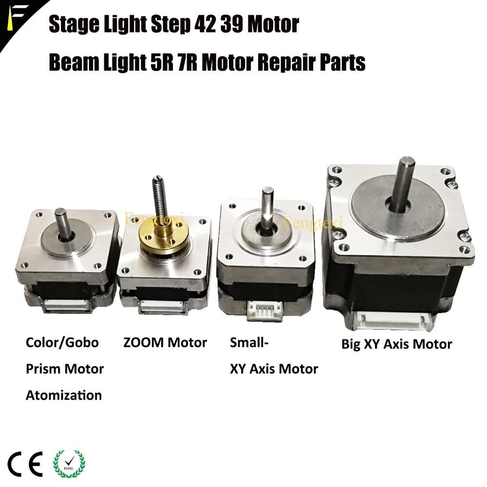 2 * лот электродвигатель Pan Tilt X/Y шаговый двигатель для Шарпи луча 7R 5R 10R 15R 16R эффект зум-мотор светодиодный светильник для сцены