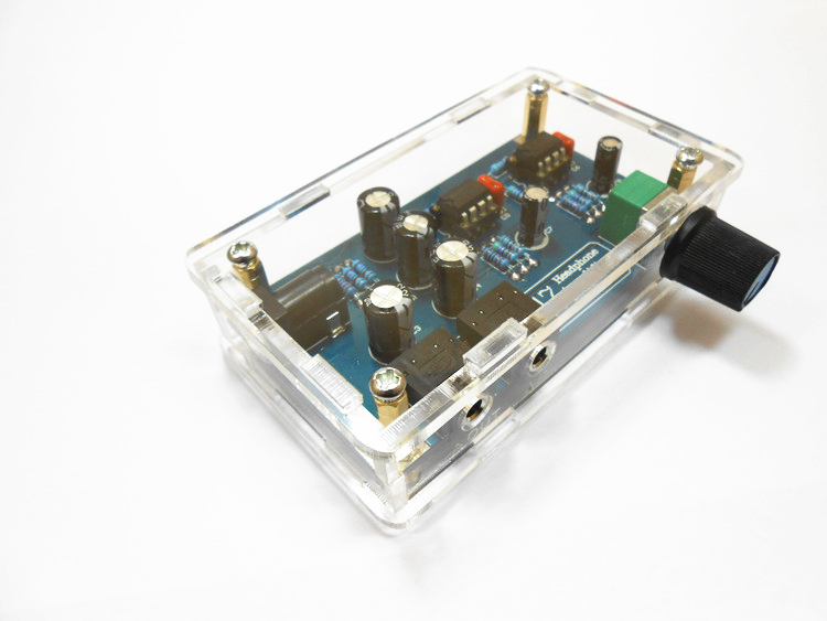 Single Power Supply Portable HIFI Headphone Amplifier PCB ...