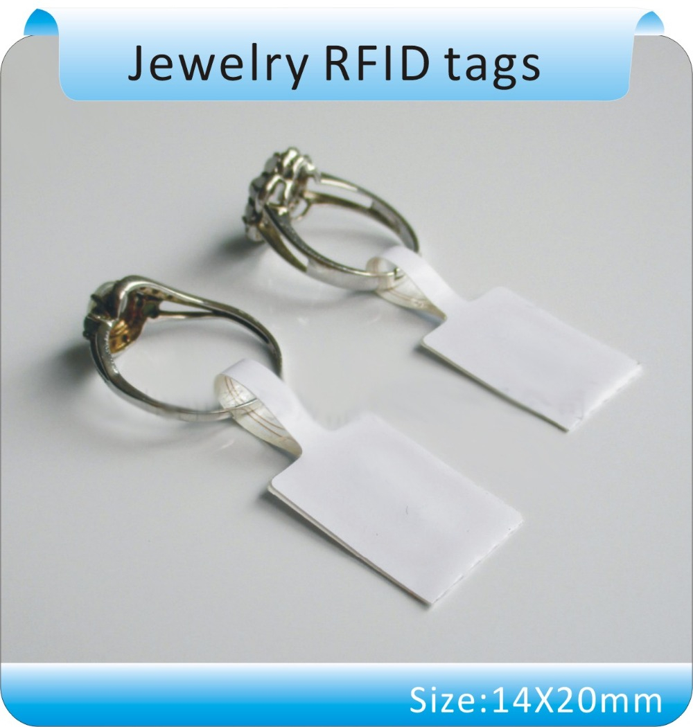 Free shipping 100pcs I.code sli ISO 15693 RFID tag 13.56 MHZ jewelry products anti counterfeiting labels
