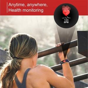 Image 4 - สมาร์ทนาฬิกาผู้ชาย 3D แบบไดนามิก UI Dial อัจฉริยะกีฬาฟิตเนสสายรัดข้อมือ montre Homme GPS กล้อง IOS Android สมาร์ทนาฬิกา