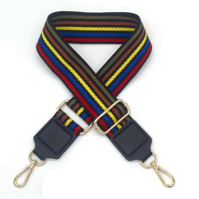 Bag Strap Handbag Belt Wide Shoulder Bag Strap Replacement Strap Accessory Bag Part Adjustable Belt For Bags 130Cm 11 130cm