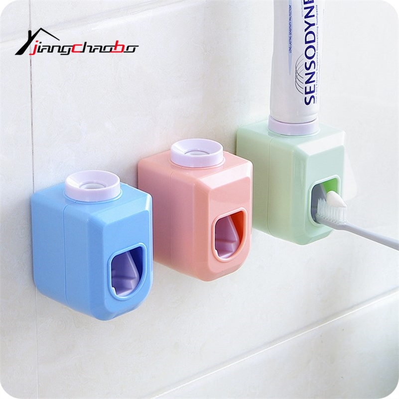 1Pcs Fashion Automatic Toothpaste Dispenser Family Toothbrush Holder Bathroom Household Items Toothpaste Squeezer