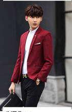 Handsome suit 2017 new mens clothing wholesale Korean casual Slim small jacket male tide