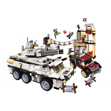 Enlighten Building Blocks Military War City Thunder Mission Attack figures model kit Bricks Educational Toys for Children