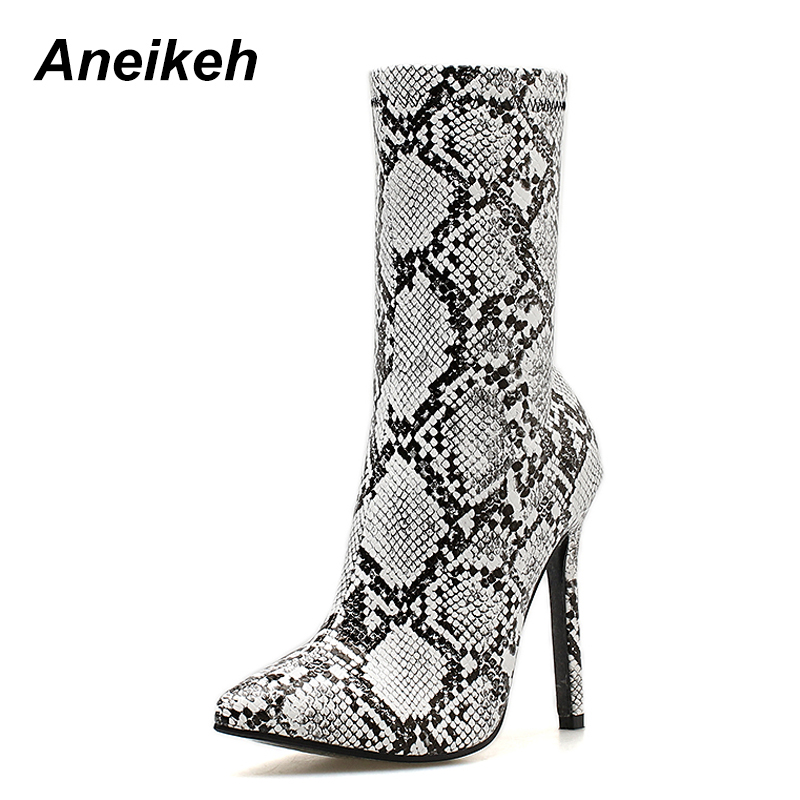 0b8acb0a7f7 Tobillo Puntiagudo 2019 42 Cremallera Zapatos Primavera Chelsea Sexy Pie  Mujeres Del Serpentine Botas 41 Moda ...