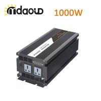 1000W SOLAR SYSTEM INVERTER DC12V 24V 48V TO AC 220V 110V PURE SINE WAVE Converter