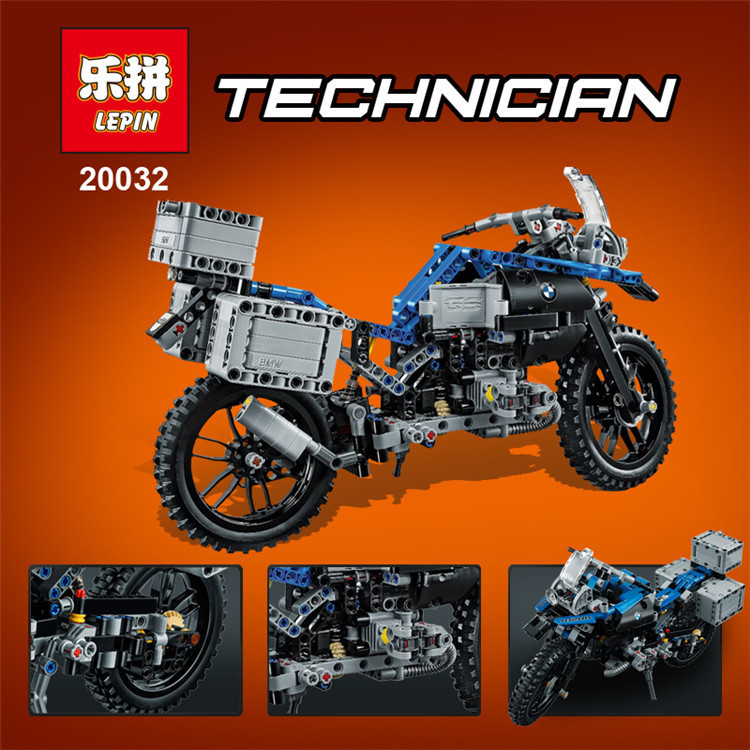 New 2017 Lepin 20032 Technic Series The BAMW Off-road Motorcycles R1200 GS Building Blocks Bricks Educational Toys 42063 B134 lego technic конструктор приключения на bmw r 1200 gs 42063