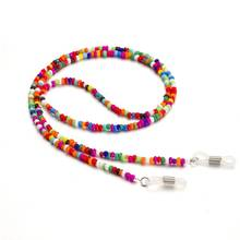 2019 Women Anti-skid Eyeglass Chains Lanyards Eyewear Accessories Colorful Beads Sunglasses Reading Glasses Strap cord chain