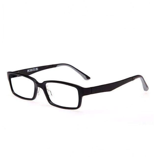 d6a5e81618 Prescripción óptica monturas de gafas para hombre / para mujer rectángulo  ligero de la lente del