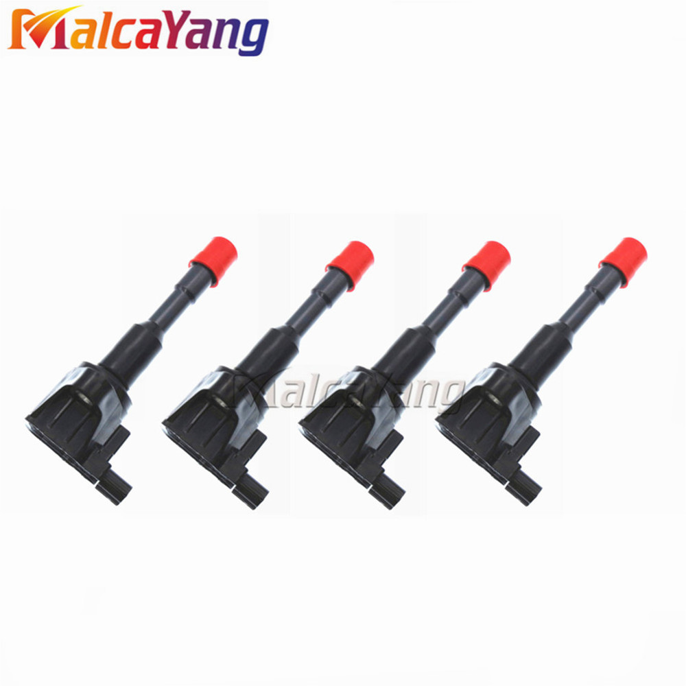 4pcs/lot 30521-PWA-003 <font><b>30521PWA003</b></font> Ignition Coil System Parts For Honda Civic 7 8 VII VIII JAZZ FIT 1.2 1.3 1.4 image