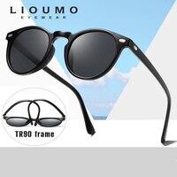e78472871 LIOUMO Brand Vintage Women Polarized Sunglasses Men TR90 Unisex Polaroid  Lens Top Quality Original Oculos De