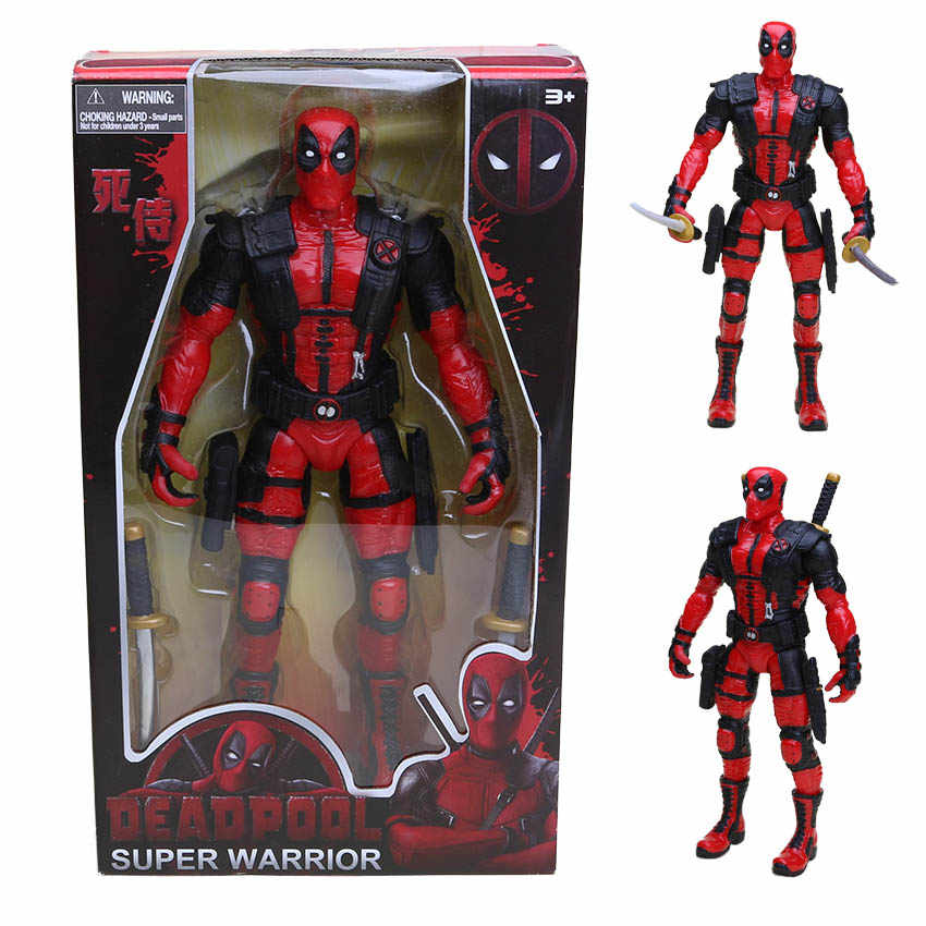 13 ''33 cm tira Herói Americano personagem Deadpool Deadpool Figura PVC Action Figure Collectible Modelo Toy