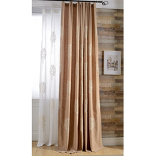 Anese And Korean Style Curtains Linen Embroidered For Bedroom Living Room Window
