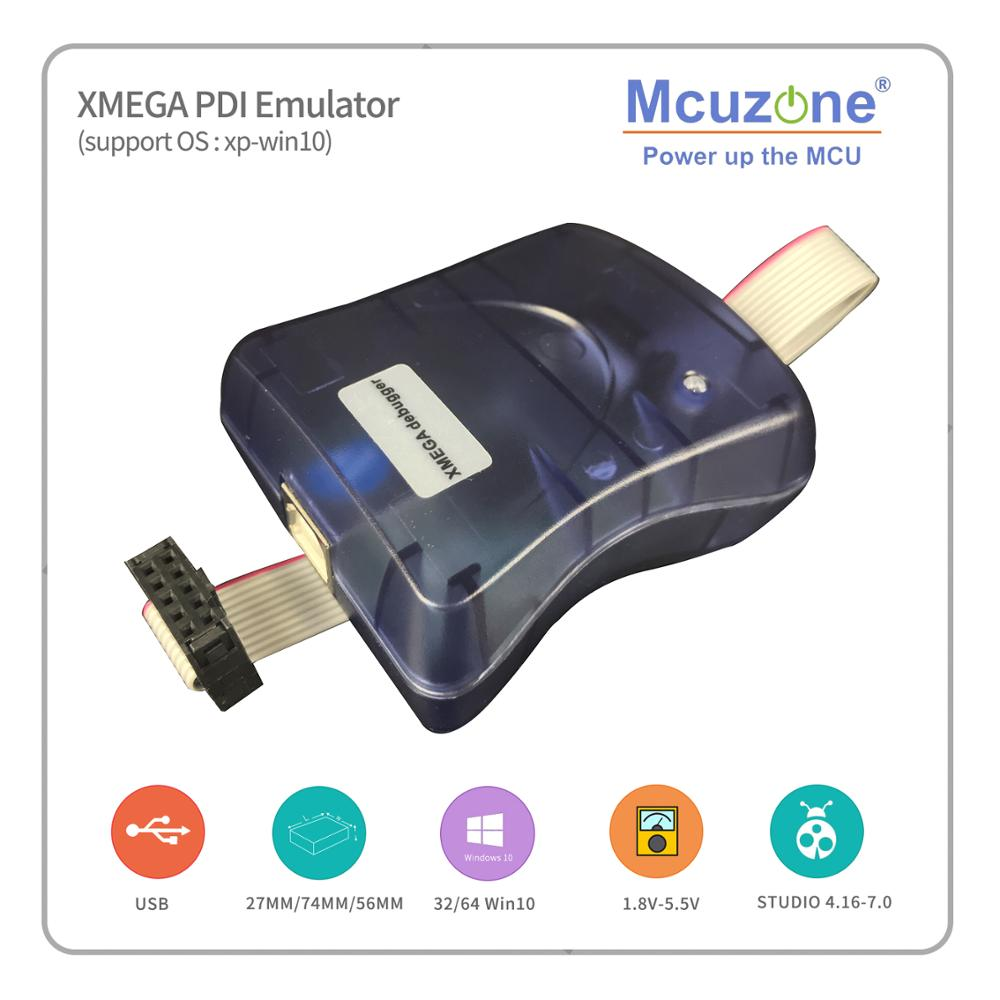 XMEGA PDI Emulator Programmer Debugger Free ATxmega A4 MINI Pcb BOARD (1PCS Per Order)