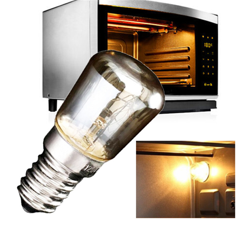 Жаропрочные лампы для духовки, тостера, печи, теплого белого света, 25 Вт/220 градусов, 240-300 В переменного тока