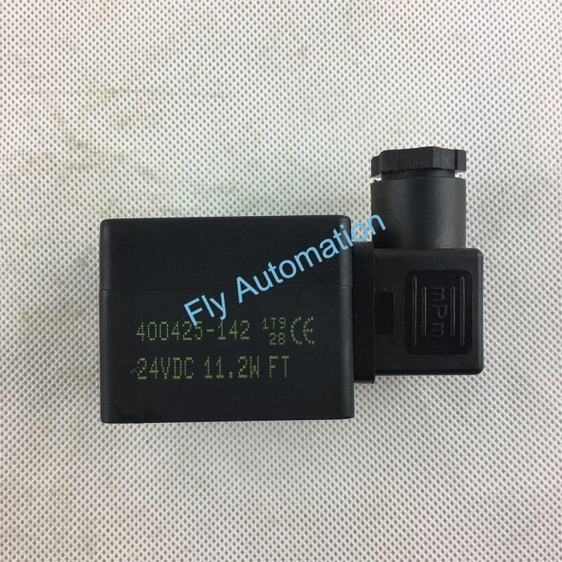 ASCO соленоидная катушка 400425-142 24VDC для импульсного струйного клапана SCG353A047 SCXE353.060