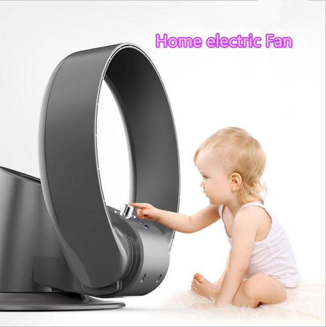 New Design COOL BLADELESS FAN Electrical No Blade Fan Home electric ...