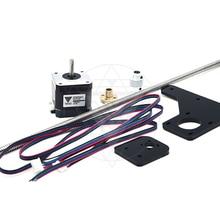 TEVO двойной Z Axis Upgrade Kit Nema 42 Шаговый двигатель и T8* 2 свинцовый винт 375 мм с латунной гайкой для тарантула 3D части принтера