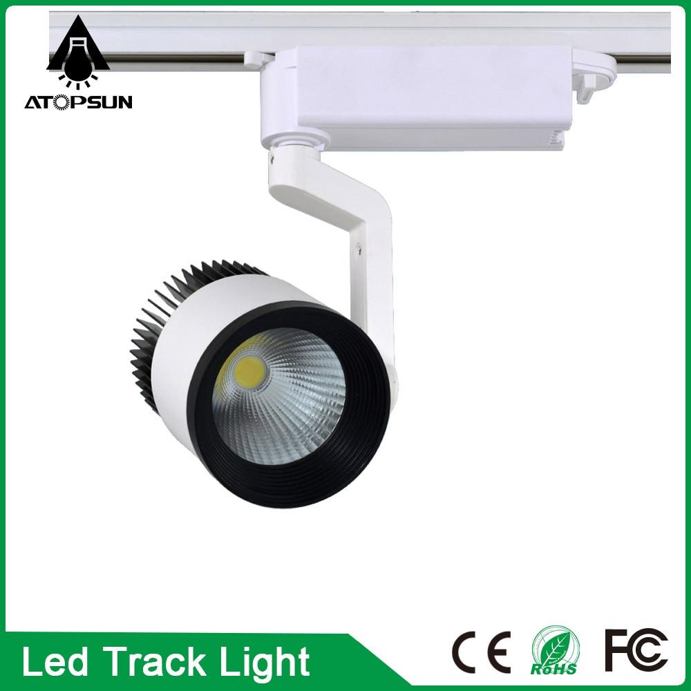COB Led Track Light Rail 35W Indoor Lighting Rail Lights