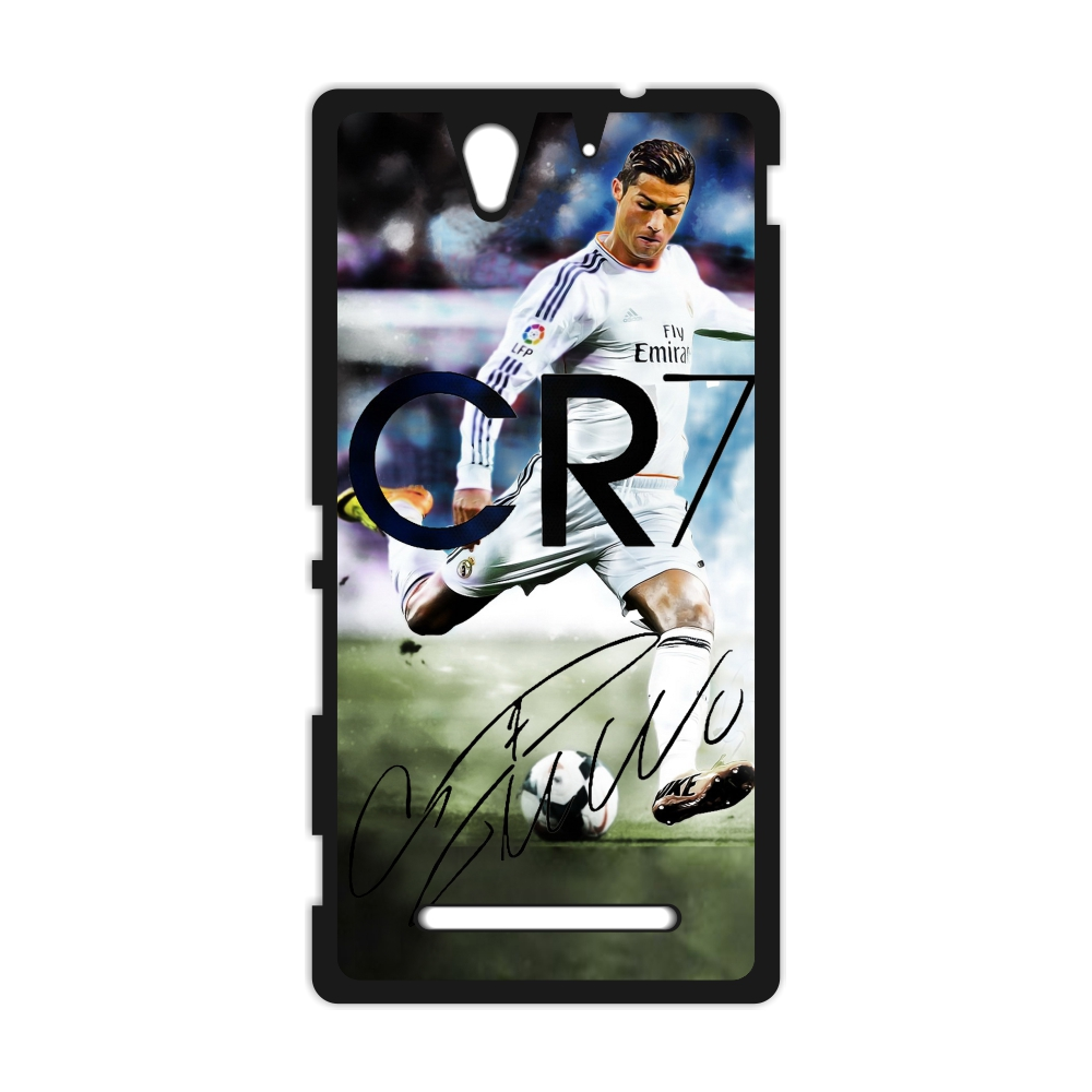 Cristiano Ronaldo CR7 Cover Case for iPhone 4 4s 5 5s SE 5c 6 6s Plus SONY Xperia Z Z1 Z2 Z3 Z4 Z5 MINI M2 M4 C3 C4 C5 T2 T3