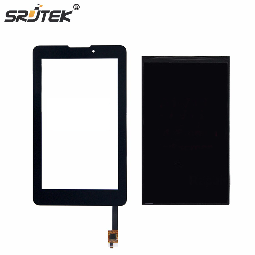 Srjtek 7inch For Acer iconia Tab7 Tab 7 A1-713 LCD Display Touch Screen Digitizer Sensor Replacement Parts Tablet Pc high quality 10 1 inch for acer iconia tab a700 a701 b101uan02 1 lcd display panel screen tablet pc replacement parts