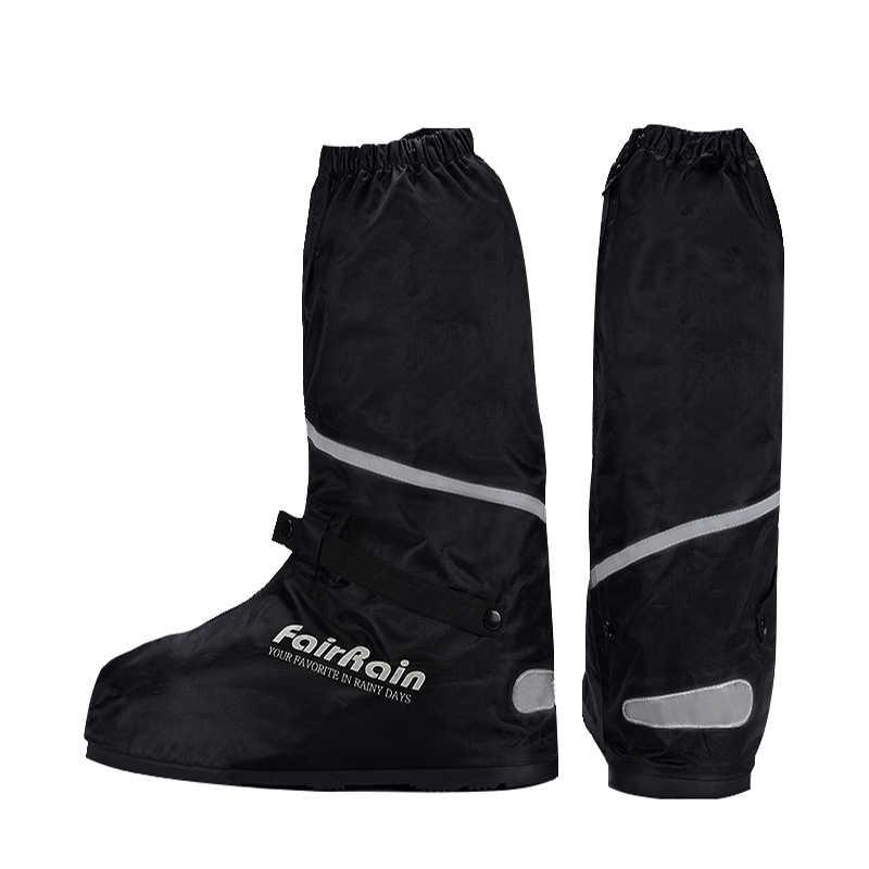 Grosir Dapat Digunakan Kembali Tahan Air Sepatu Cover Non-Slip Sepeda Motor Bersepeda Hujan Penutup Sepatu Tahan Air Memakai Sepatu untuk Pria