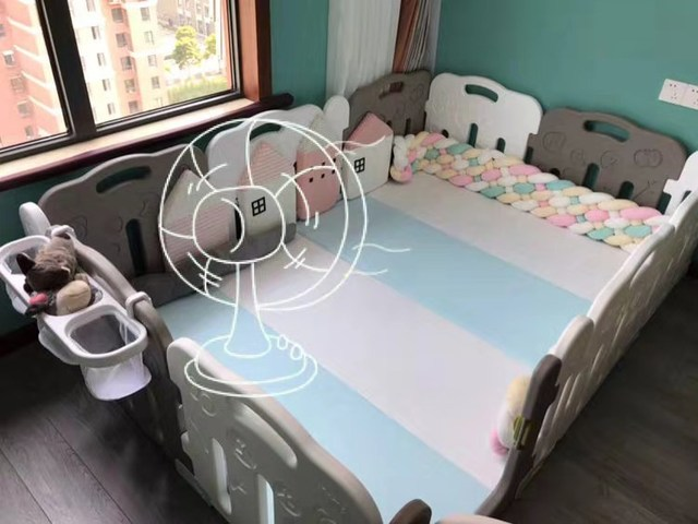 2 Meter Baby Braided Crib Bumpers