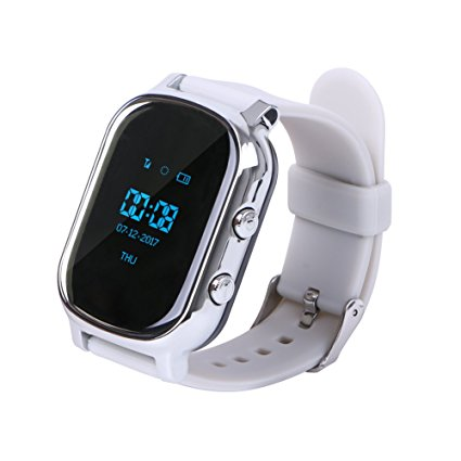 T58 GPS Tracker Smart Locating Watch Smart Watch Phone Smart Bracelet T58 Children Watches Google Map for iOS Android