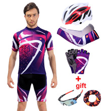 Summer Cycle Jersey Set Men 2018 Team Pro Racing Bike Clothing Mtb Wear Short Sleeve Bicycle Clothes Men Cycling Sets Sportswear цена