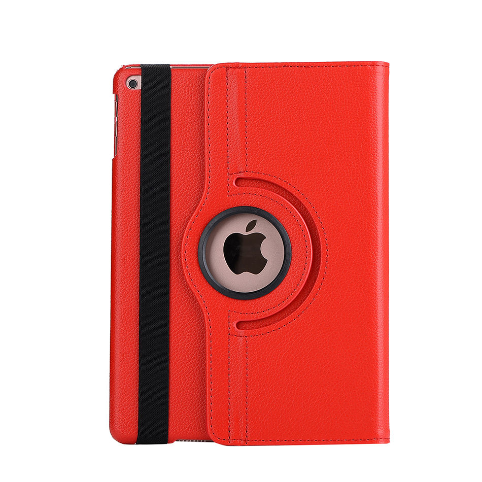 Case For Apple New Ipad 9.7 2017 6Th Generation A1822 A1893 Cases 360 Degree Rotating Stand Cover For Ipad 9.7 2017 2018