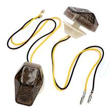 2 Pieces/Set Amber Lights Indicator Lamps For Suzuki Universal Turn Signal Lights Motorcycle Accessories Motorcycle Lighting
