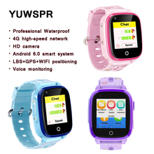 Kids Tracker watches SOS safety 4G Smart Watch IP6