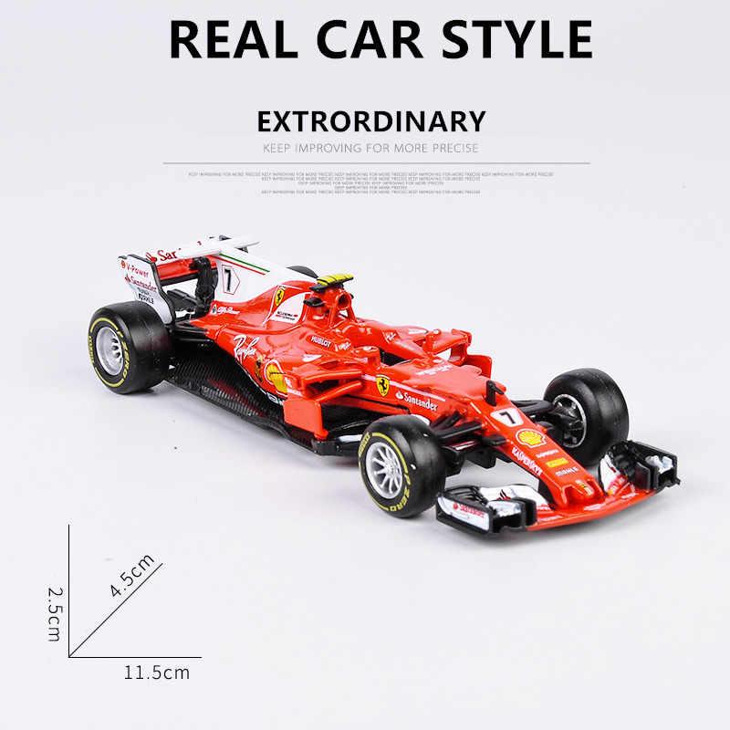 Ferrari sf71h nr 7 kimi raikkonen temporada 2018 1//43 Bburago modelo coche con o