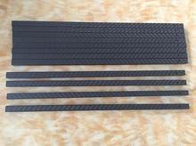 CNC drill hole Square full carbon fiber tube 10X 10 X 8 X 325MM Multi rotor