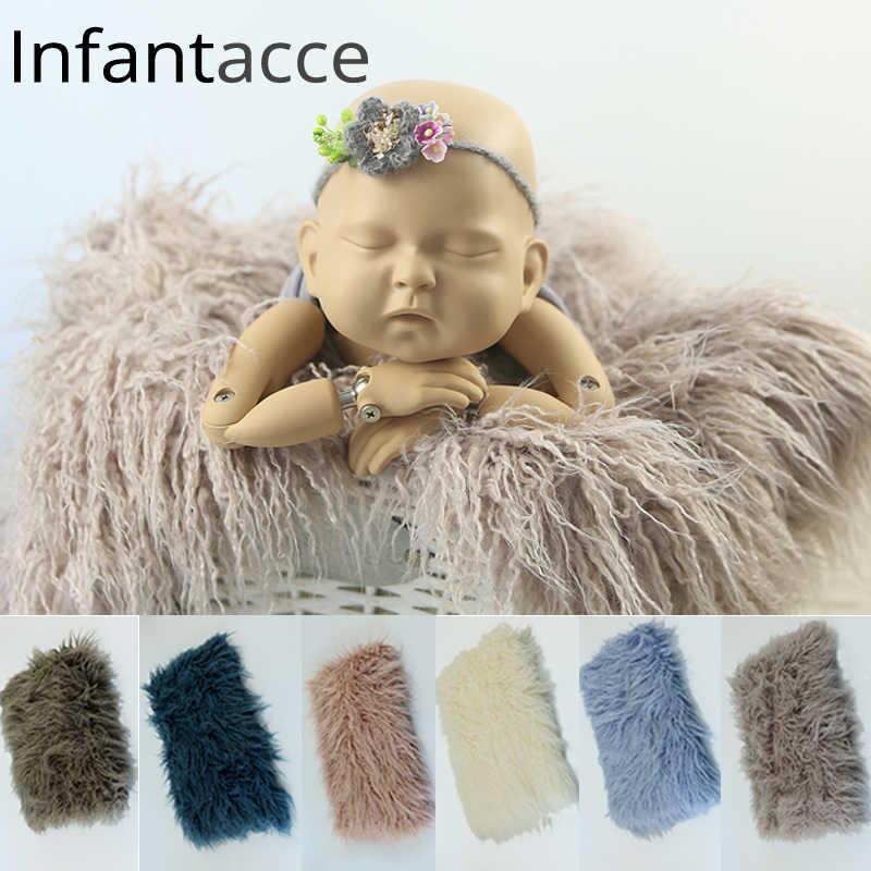 099d774d567e Detail Feedback Questions about newborn faux fur blanket photography ...