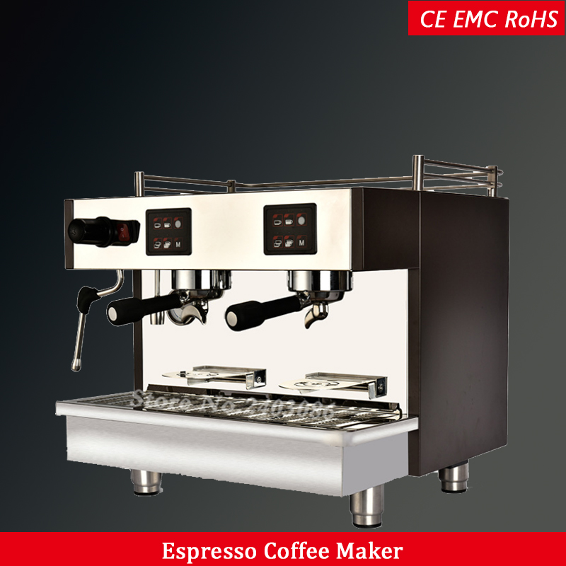 240 Cups Electric Commercial Italian Espresso Coffee Maker Machine Semi Automatic for cafe and restaurant