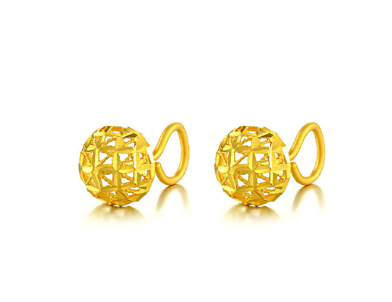 latest stud gold splendid earrings lady jewellery designs drop