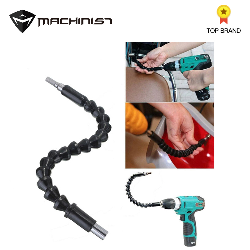 1pc 295mm Bit Holder Flexible Shaft Drill Flexible Screwdriver Electronics Drill Black Shaft Bits Extention Screwdriver Connect
