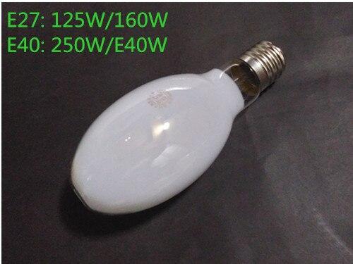 2 шт. E27 саморегулирующаяся ртутная лампочка балласта собственной личности ртутная лампочка автономные балласт E40 Флуоресцентный светильник лампочка