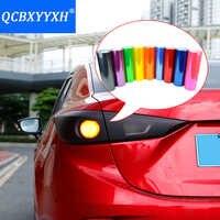 """QCBXYYXH Auto Styling 12 """"X 40"""" 30CMX 100 CM Auto Auto Licht Scheinwerfer Rücklicht Farbton styling wasserdicht Vinyl film 13 Farben Aufkleber"""
