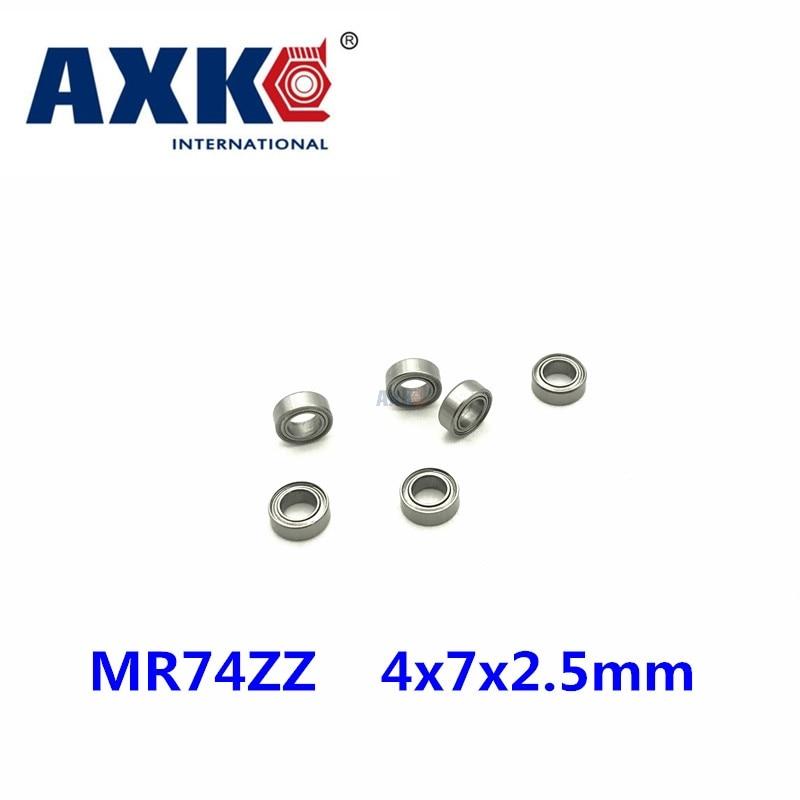 Il trasporto libero 10 PCS mini cuscinetto MR74ZZ L-740ZZ 4x7x2.5mm cuscinetti P5 MR74 ZZ 4*7*2.5 cuscinetti radiali a sfereIl trasporto libero 10 PCS mini cuscinetto MR74ZZ L-740ZZ 4x7x2.5mm cuscinetti P5 MR74 ZZ 4*7*2.5 cuscinetti radiali a sfere