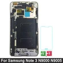 Для samsung Galaxy Note 3 ЖК-дисплей Дисплей для samsung Примечание 3 N9005 N9000 N900A ЖК-дисплей Сенсорный экран планшета в сборе с рамкой