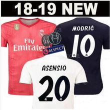 2bd6f650a 18 2019 Real Madrid shirt soccer jersey isco SERGIO RAMOS 2018 19 Realed shirt  BALE BENZEMA t-shirt clothing football shirt