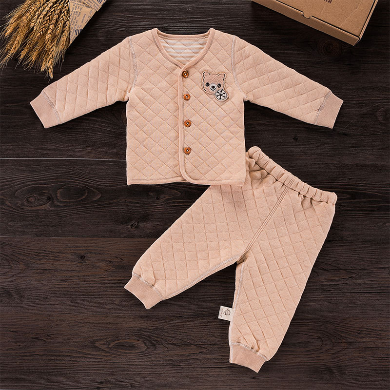0-24M Natural colored cotton Newborn Baby Boy girl Clothes Baby Clothing Babys Sets daniel wellington
