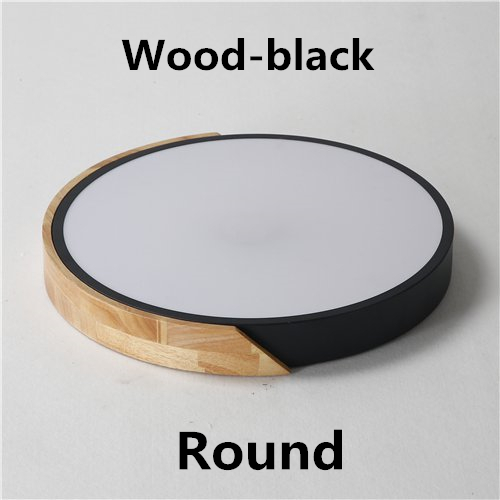 Wood-Round-black