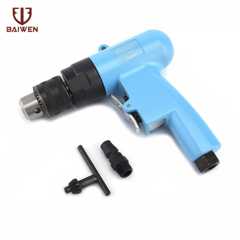 """Pneumatic Air Drill 3/8"""" High-speed Rotation Drill Tool for Hole Drilling"""