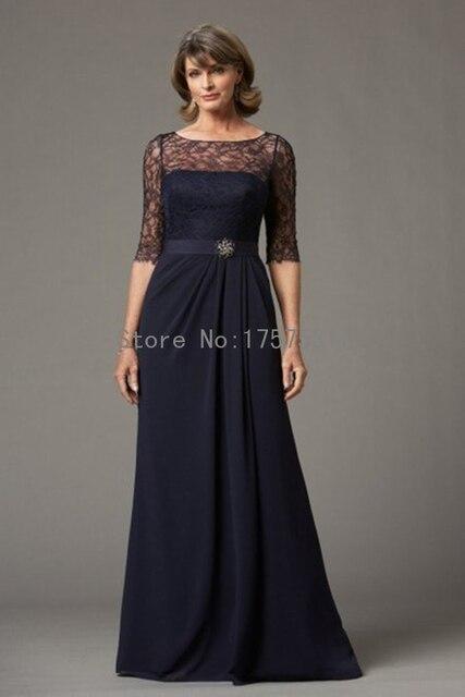 Elegant Chiffon Plus Size Mother Of The Bride Dress Hand Made Half