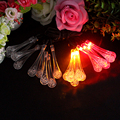 20 LED Fairy lights Holiday Garland LED Christmas lighting strings For Trees Decoration Water Drop Shape Garden Solar Lights #KF