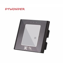 DTWONDE QR Code rfid Reader USB 125khz Wiegand Sensor Proximity Tempered glass Automatic Sensing DT008