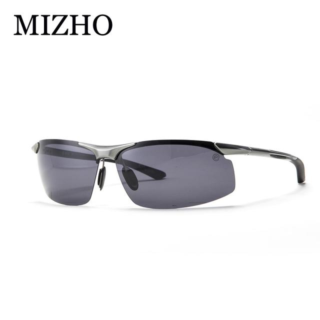 Mizho anti-glare hard light fotocromáticas óculos de sol de pesca 100% polaroid hd 2017 esportes óculos polarizados óculos de visão noturna homens